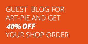 Become a guest blogger and get 40% off your shop order