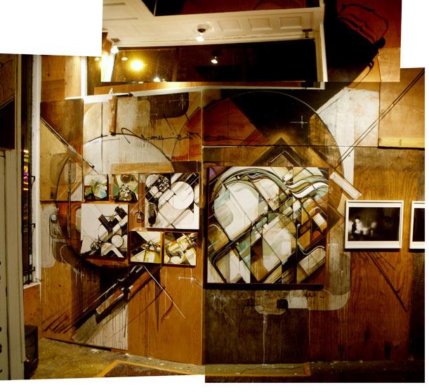 Kofie's installation