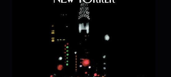 New Yorker mag cover created with Brushes
