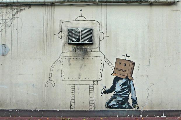 banksy-futurama-bender