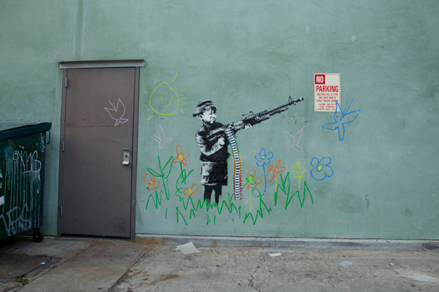 Banksy in Los Angeles