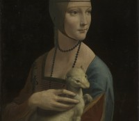 Portrait of Cecilia Gallerani (Lady with the Ermine) © Princes Czartoryski Foundation