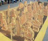 Lego 3d by Planet Street Painting