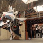Clemens Behr and Romain Froquet installation
