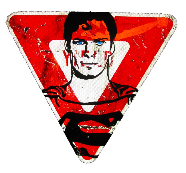 Superman by The Signtologist