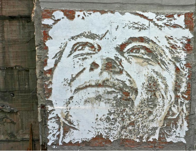 All City Canvas - Vhils
