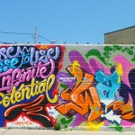 Welling court mural project - Art-Pie