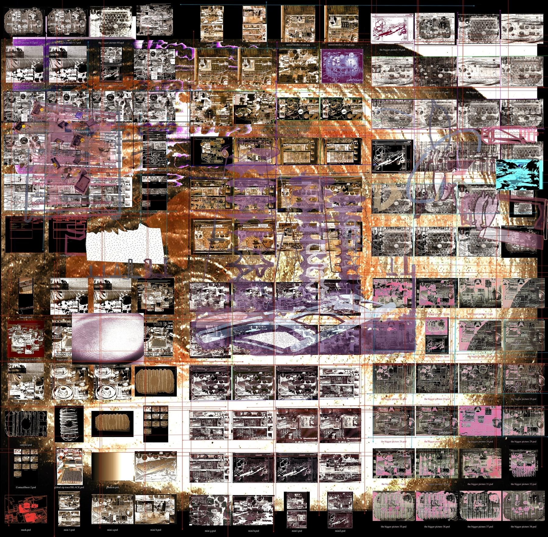The Bigger Picture (c)2009 Sandra Crisp