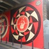 Sheperd Fairey's mural on Bateman's row | Art-Pie