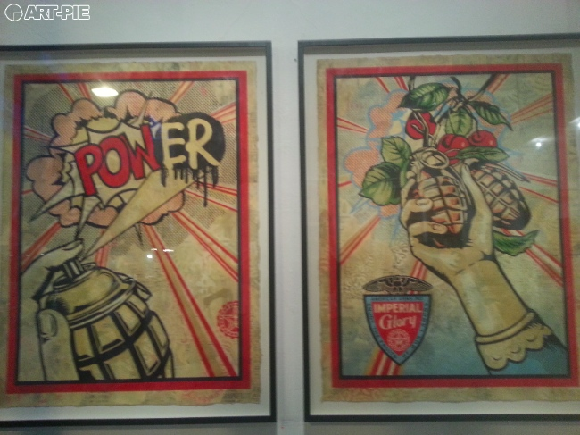 Shepard Fairey's Sound & Vision | Art-Pie