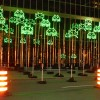 Green Invaders, 2012 Yves Caizergues - Lyon, France Light Installation