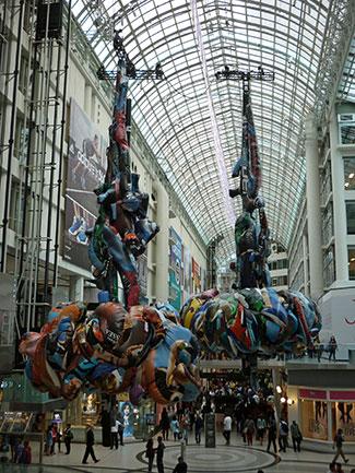 Vertical Constructions: Dancer #1 and #2, 2012  Max Streicher - Toronto, Canada  Sculpture