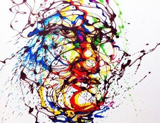 Hua Tunan's Splatter series