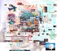 Diagram (artificial tree), 2010 Sandra Crisp