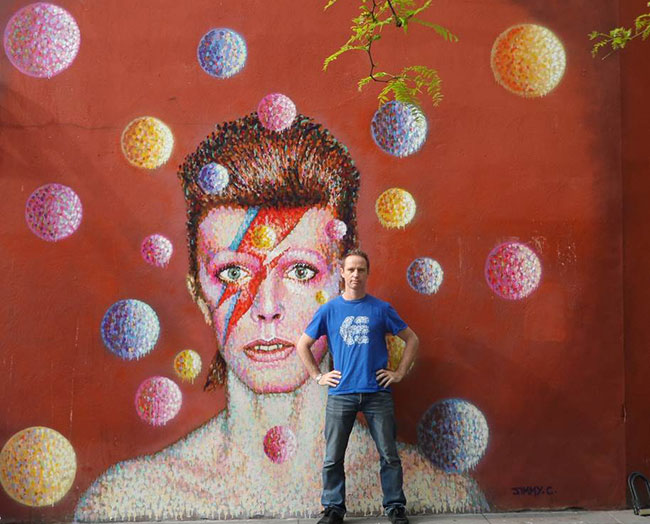 David Bowie by Jimmy C | Art-Pie