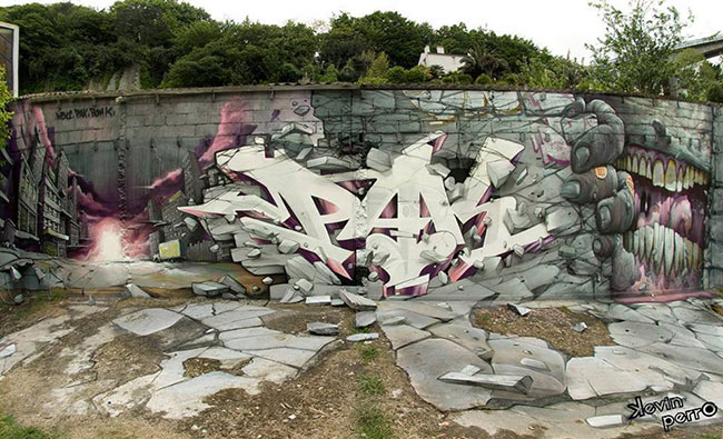 Bom K x Pak One x Wen 3 | Art-Pie
