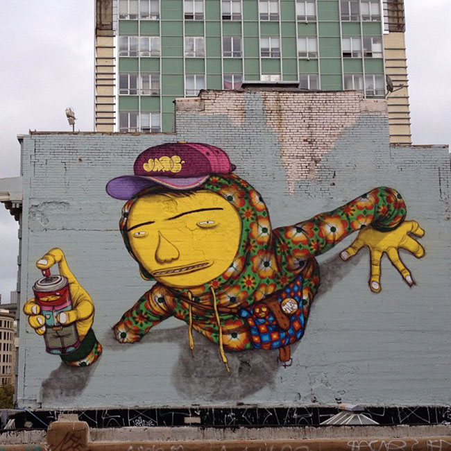 Os Gemeos | Art-Pie