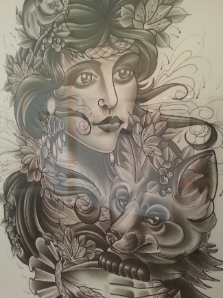 Under her skin  at Atomica gallery   Art-Pie