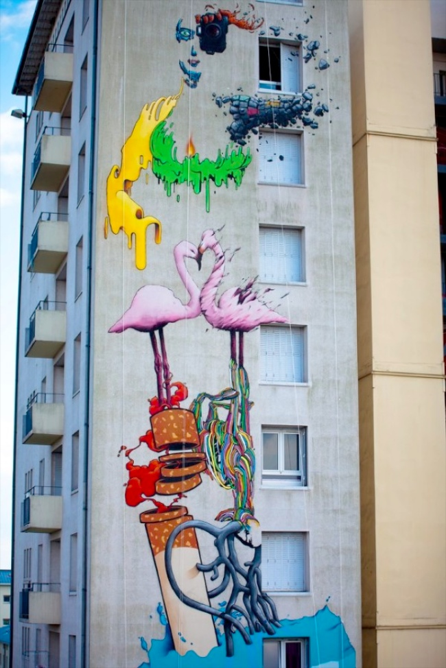 Brusk's street art | Art-Pie