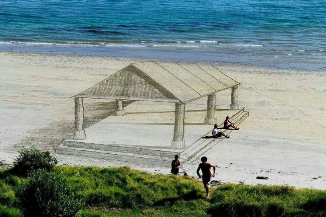 Sand art | Art-Pie