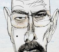 Ralph Steadman's covers for Breaking Bad | Art-Pie