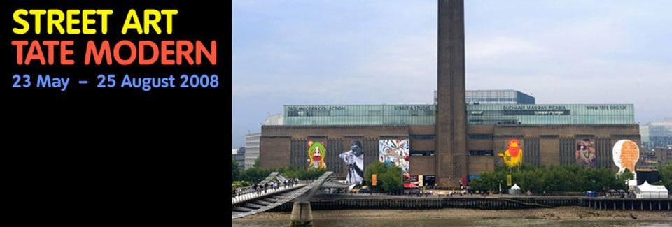 Street art exhibition at Tate Modern | Art-Pie