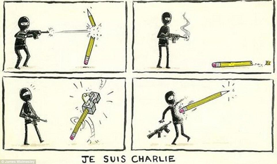 #JeSuisCharlie James Walmesley | Art-Pie