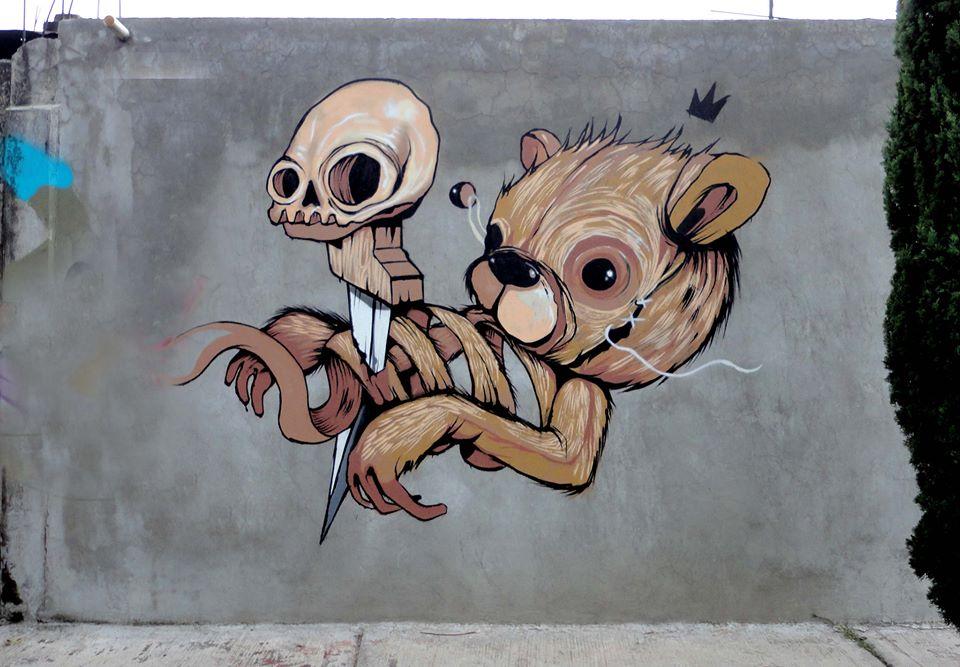 'King Bear' by Trash | Art-Pie
