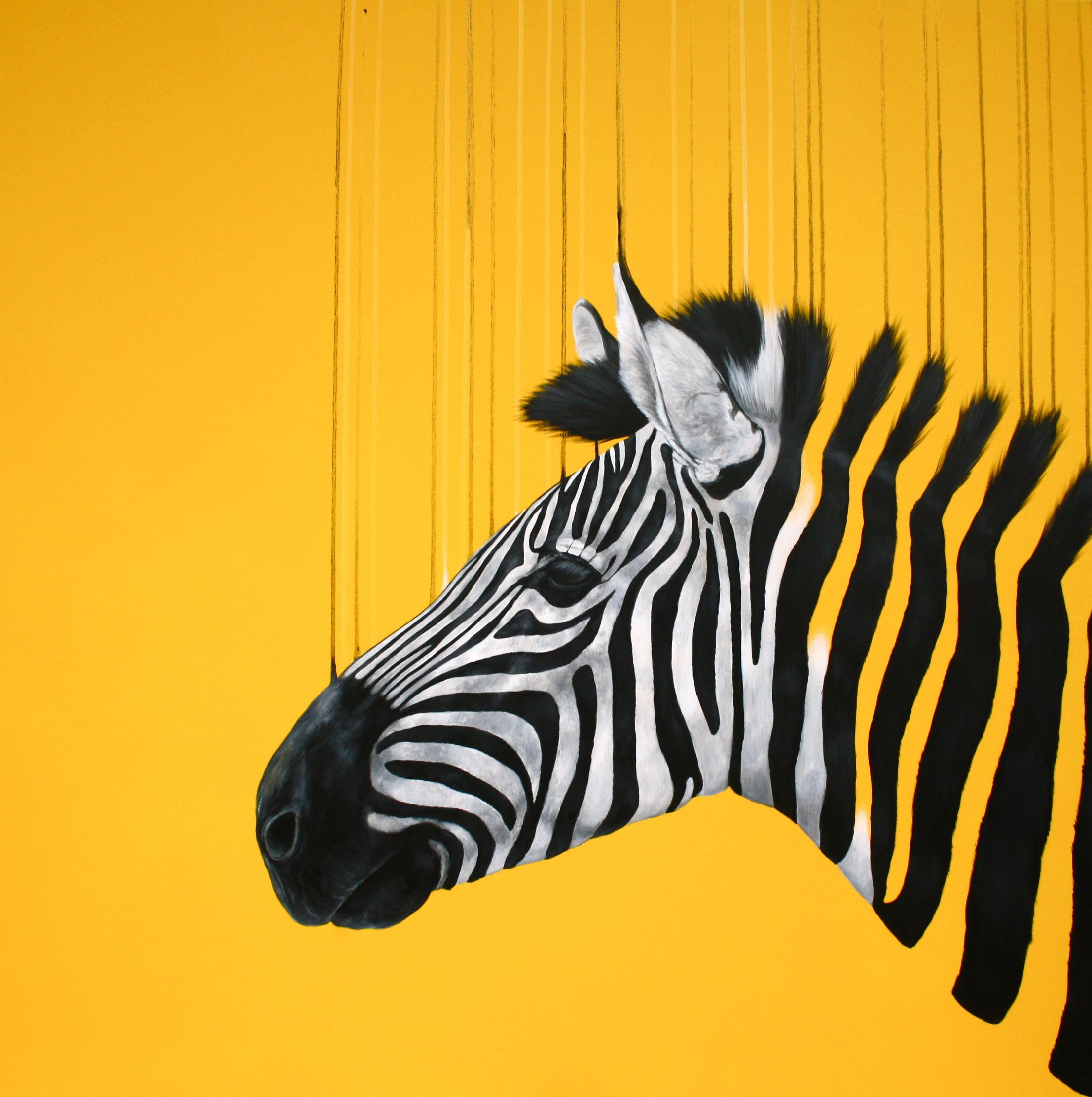 Fragmented freedom #yellow | Louise McNaught