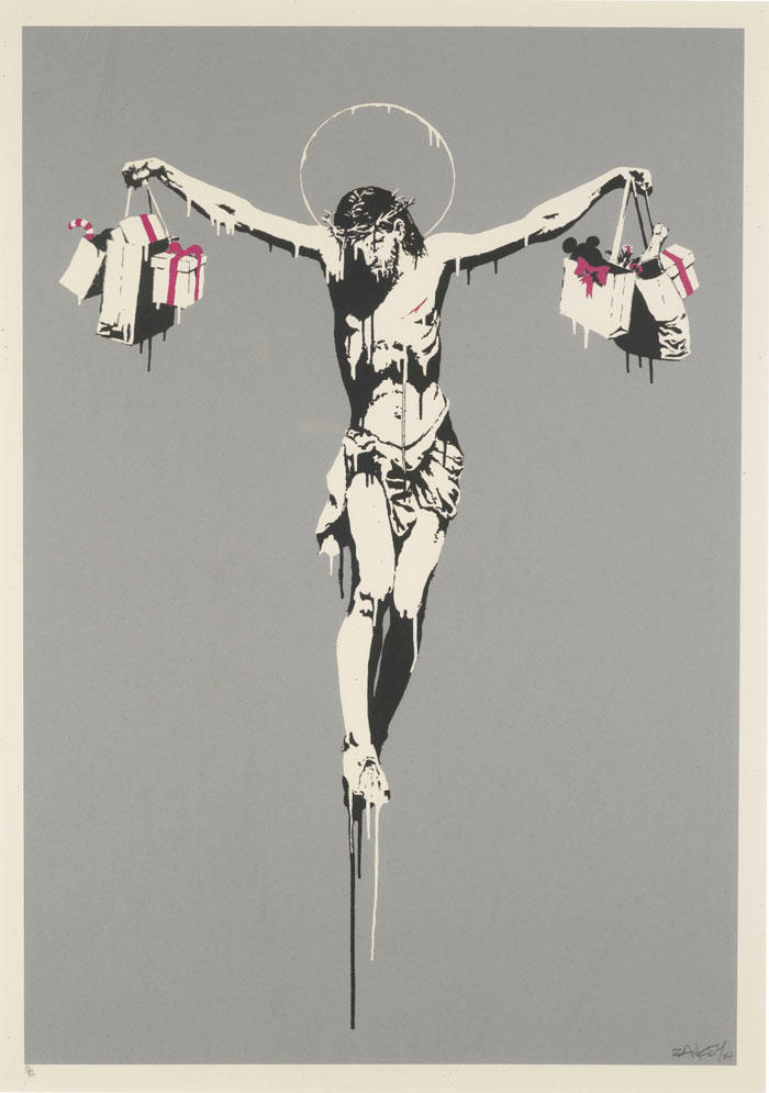 Banksy - Christ With Shopping Bags | ART-PIE