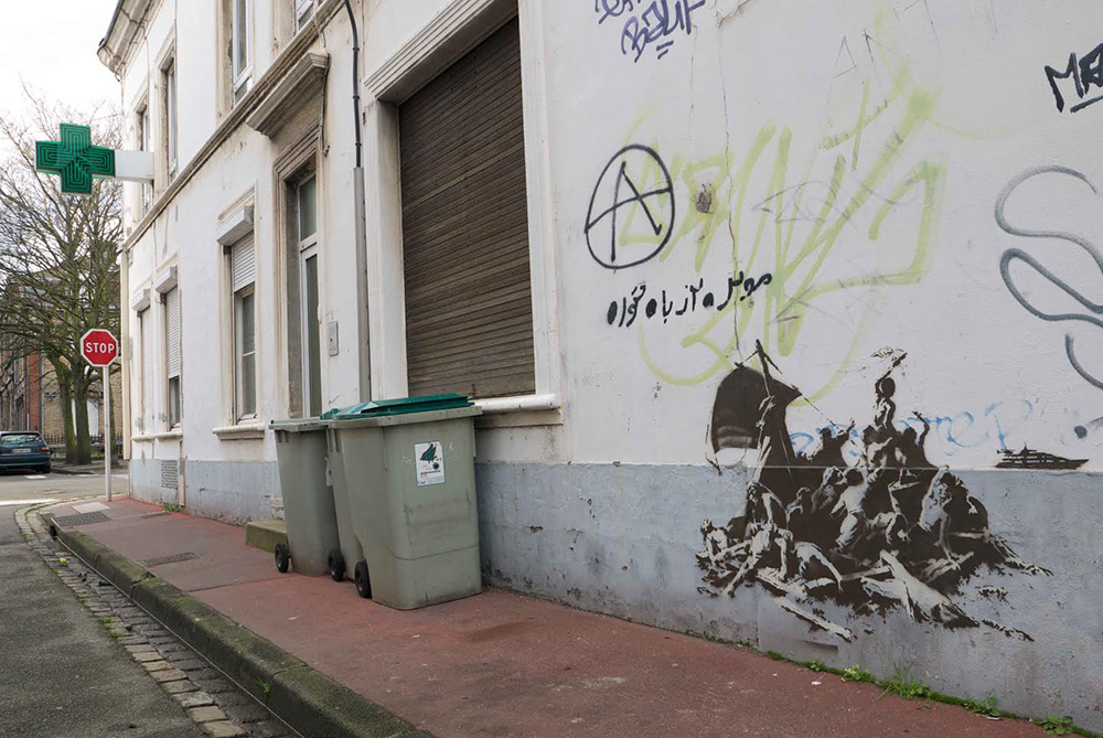 Banksy in Calais | Art-Pie