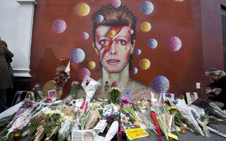 David Bowie wall in Brixton | Art-Pie
