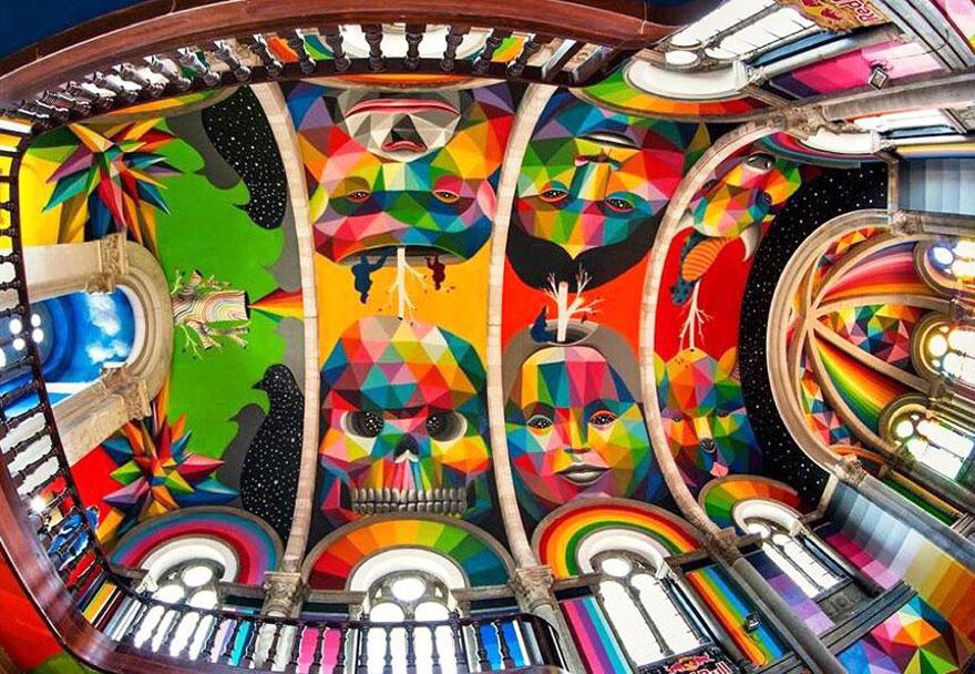 La Iglesia skate | Art-Pie