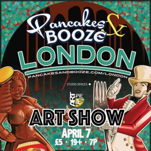 Pancakes & Booze, April 16 | Art-Pie