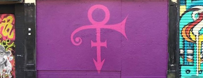 Prince tribute on the Belfast Cathedral | Art-Pie