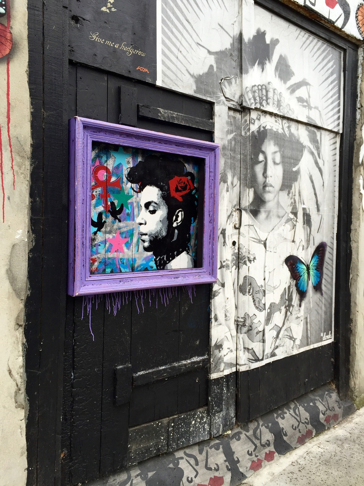 PRINCE tribute by Pagasus in London | Art-Pie