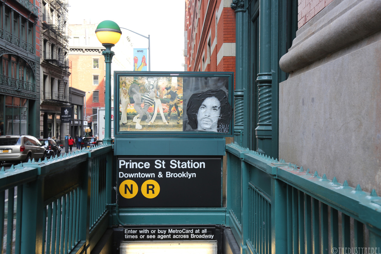 PRINCE tribute in New York | Art-Pie