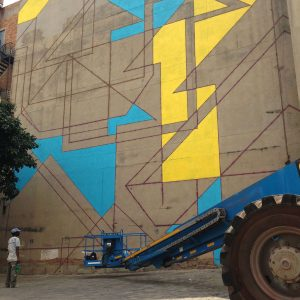Above street art Incognito Johannesburg | Art-Pie