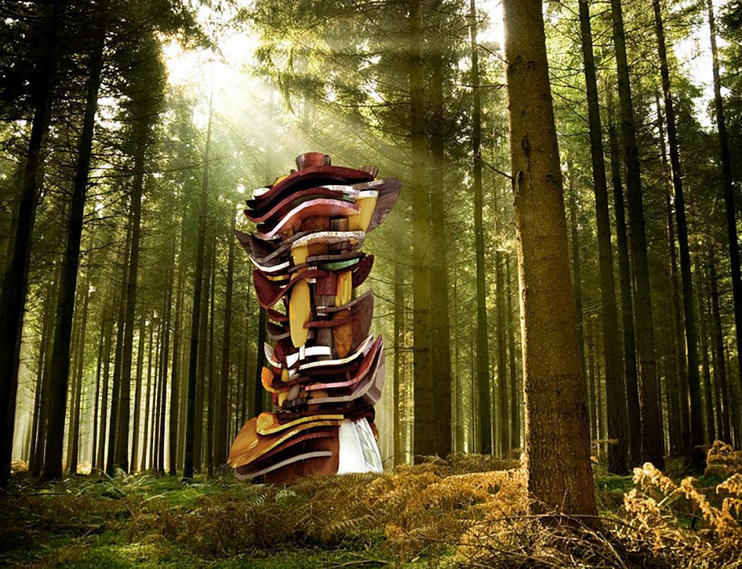 C 2016 Cass Sculpture Foundation, Wang Yuyang, Rendering of Identity, 2015 | Art-Pie
