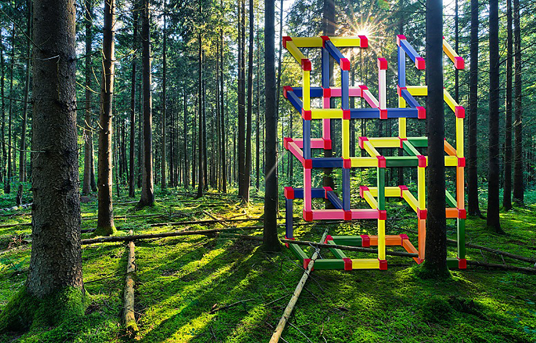C 2016 Cass Sculpture Foundation, Zhao Yao, Rendering of A Sculpture of Thought I-192 , 2015 | Art-Pie