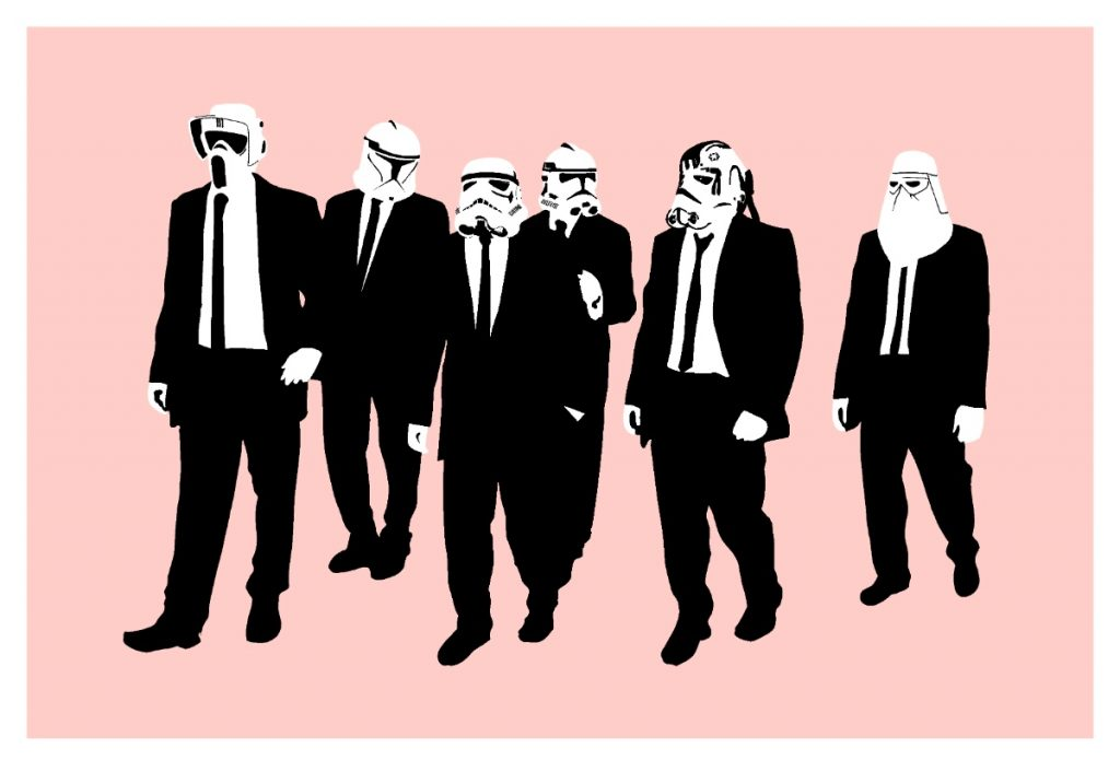 Reservoir Dogs Storm Troopers by RYCA | Art-Pie
