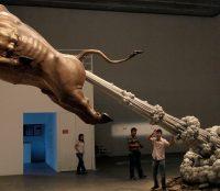 """Chen Weng Li """"farting bull""""   Art-Pie"""