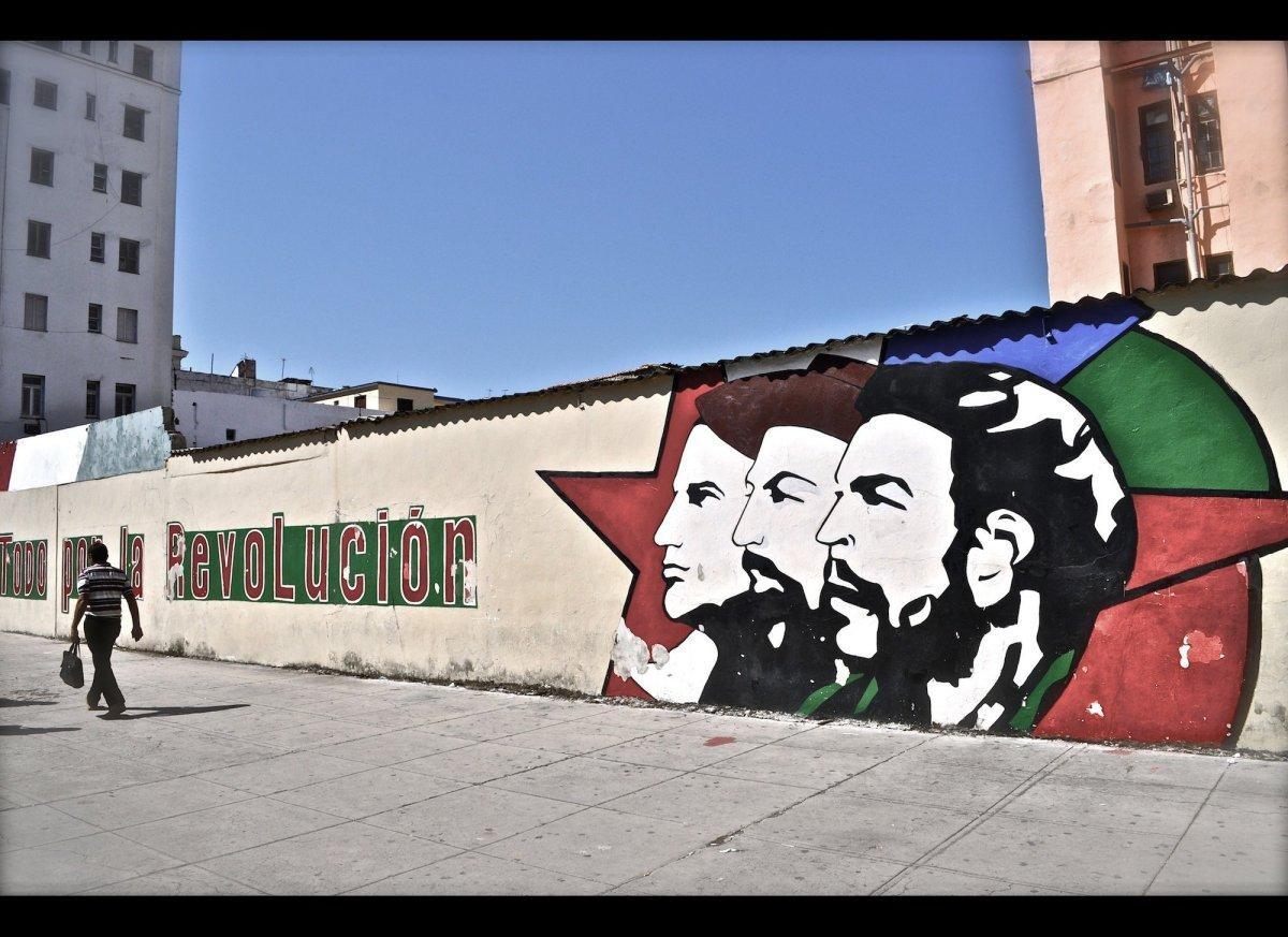 Fidel Castro Cuba Street Art | Art-Pie