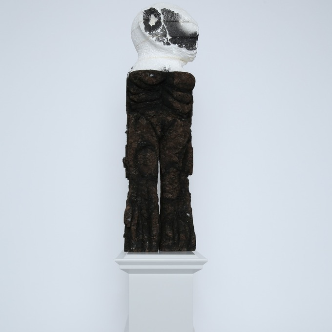 Untitled, by Huma Bhabha | Art-Pie