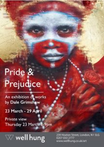 Dale Grimshaw's Pride & Prejudice at WellHung gallery | Art-Pie