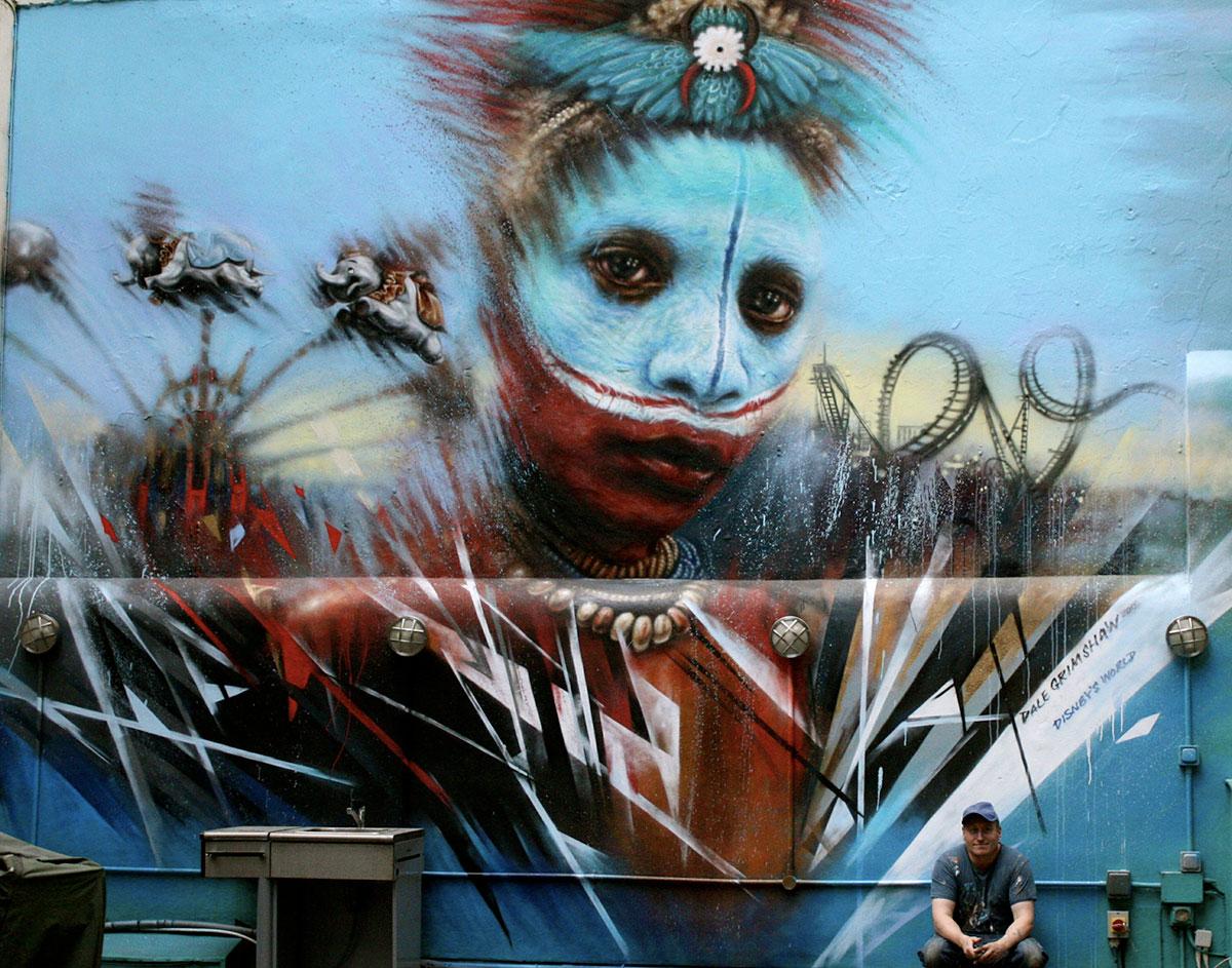 Dale Grimshaw street art | Art-Pie