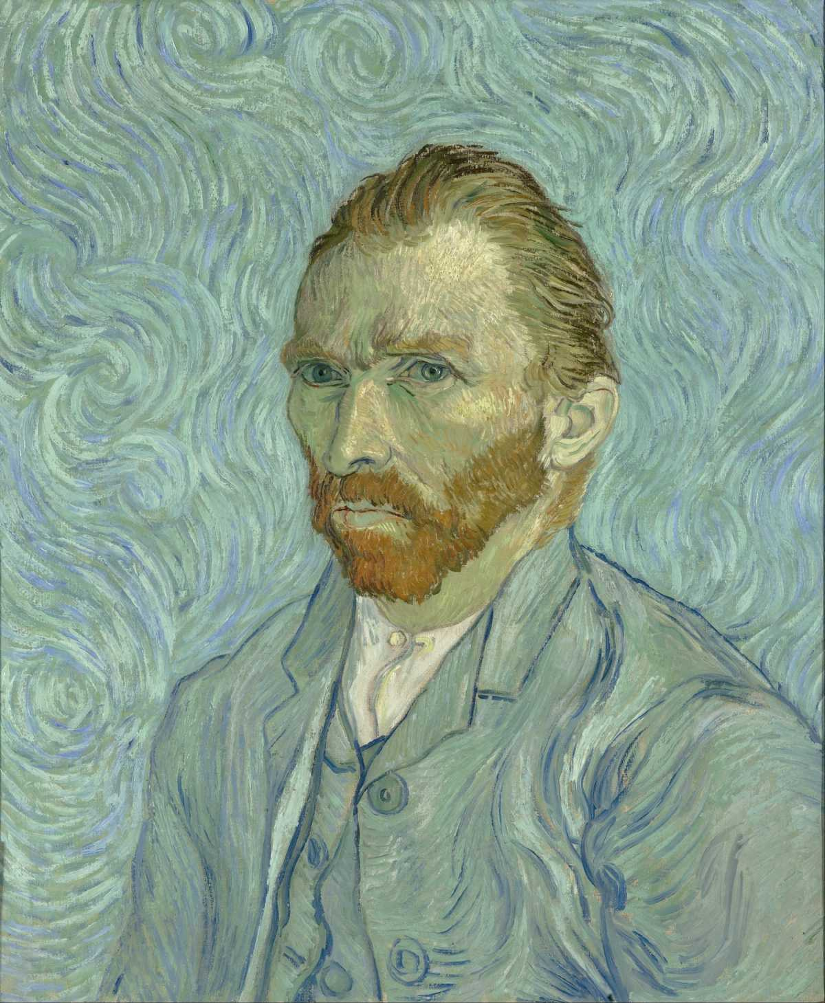 'Self portrait', Van Gogh | Art-Pie